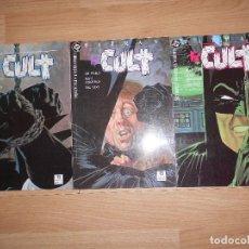 Cómics: BATMAN THE CULT - LOTE 3 NUMEROS DE 4 / COLECCION CASI COMPLETA ( SOLO FALTA Nº 1 ) - DC - ZINCO. Lote 205014766