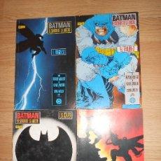 Cómics: BATMAN EL SEÑOR DE LA NOCHE - COLECCION COMPLETA 4 NUMEROS - FRANK MILLER - DC - ZINCO. Lote 205015148