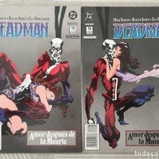 Cómics: DEADMAN. AMOR DESPUES DE LA MUERTE DE MIKE BARON & KELLEY JONES. ZINCO 1990. Lote 205021062
