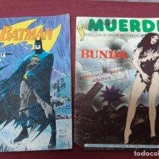 Cómics: BATMAN Nº 3. MUERDE Nº 2.... AÑOS 80. Lote 205074697