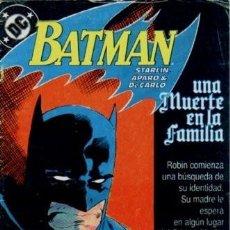 Cómics: BATMAN. UNA MUERTE EN LA FAMILIA COMPLETA 3 Nº. EDICIONES ZINCO. Lote 205085947