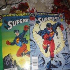 Cómics: SUPERBOY 1 Y 2 EL ORIGEN UN NUEVO COMIENZO ( KESEL ). Lote 286442363