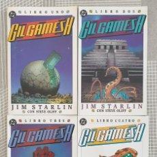 Cómics: GILGAMESH II DE JIM STARLIN. COLECCIÓN COMPLETA DE 4 TOMOS. EDICIONES ZINCO 1990. Lote 205102652