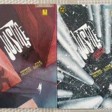 Cómics: JUSTICE INC DE ANDREW HELFER Y KYLE BAKER. COL. COMPLETA DE 2 TOMOS. ZINCO 1991. Lote 205106990
