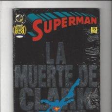 Cómics: SUPERMAN LA MUERTE DE CLARK KENT LIBRO UNO - PRECINTADO !!!. Lote 228258635