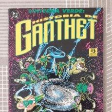 Cómics: LINTERNA VERDE. HISTORIA DE GANTHET DE LARRY NIVEN Y JOHN BYRNE. ZINCO 1993. Lote 205150448
