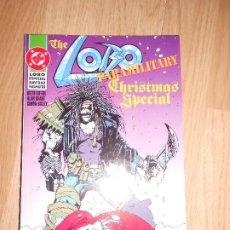Cómics: THE LOBO PARAMILITARY : CHRISTMAS SPECIAL / ESPECIAL NAVIDAD PARAMILITAR - DC - ZINCO. Lote 205160956