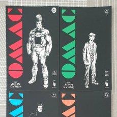 Cómics: OMAC DE JOHN BYRNE. COLECCIÓN COMPLETA DE 4 TOMOS. EDICIONES ZINCO 1992. Lote 205162100