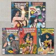 Cómics: WONDER WOMAN. COLECCIÓN COMPLETA DE 5 TOMOS EDICIONES ZINCO 1995. Lote 205237493