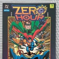 Cómics: ZERO HOUR. CRISIS TEMPORAL DE DAN JURGENS. TOMO UNICO. EDICIONES ZINCO 1995. Lote 205238045