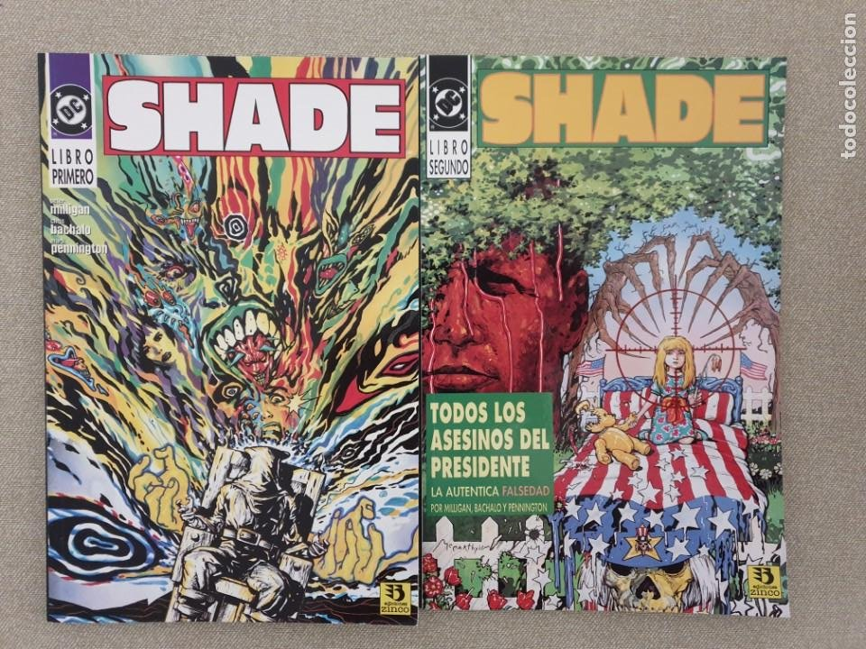 SHADE, EL HOMBRE CAMBIANTE 1 Y 2 (THE CHANGING MAN 1-4 USA, JUL 1990) - PETER MILLIGAN/CHRIS BACHALO (Tebeos y Comics - Zinco - Prestiges y Tomos)