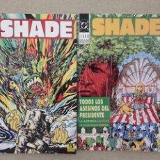 Cómics: SHADE, EL HOMBRE CAMBIANTE 1 Y 2 (THE CHANGING MAN 1-4 USA, JUL 1990) - PETER MILLIGAN/CHRIS BACHALO. Lote 205279992