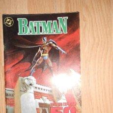 Cómics: BATMAN Nº 2 NUMERO ESPECIAL 50 ANIVERSARIO - DC - ZINCO. Lote 205312643