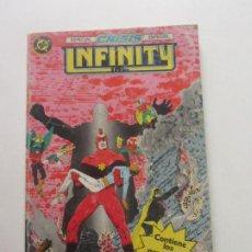 Cómics: INFINITY INC ESPECIAL CRISIS Nº 15 AL 18 EDICIONES ZINCO AÑO 1986 CX57. Lote 205347530
