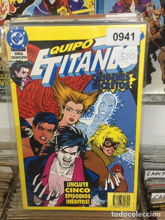 ZINCO DC EQUIPO TITANES - ORIGENES SECRETOS BUEN ESTADO (Tebeos y Comics - Zinco - Otros)