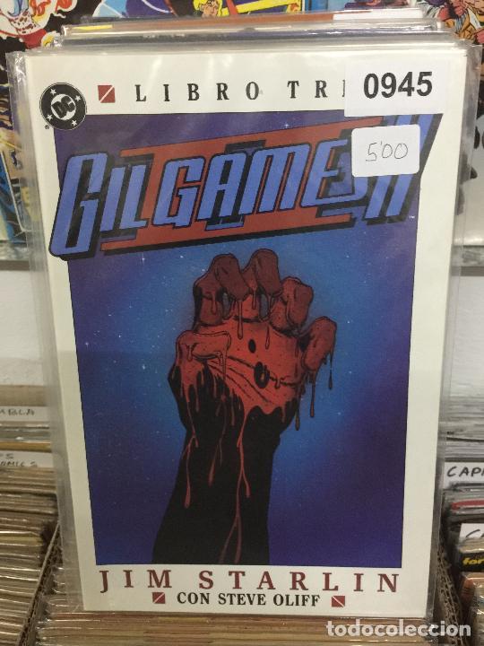 ZINCO DC GIL GAMESH II LIBRO 3 BUEN ESTADO (Tebeos y Comics - Zinco - Otros)