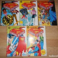 Cómics: LA FASCINANTE LEYENDA DE SUPERMAN EL HOMBRE DE ACERO - JOHN BYRNE / DICK GIORDANO - DC - ZINCO. Lote 205395008