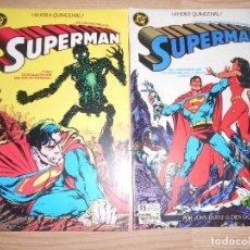 Cómics: SUPERMAN Nº 6 Y 7 - JOHN BYRNE - DC - ZINCO. Lote 205395251