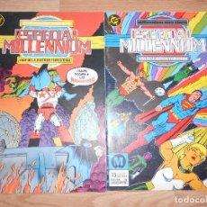 Comics: ESPECIAL MILLENNIUM LIGA DE LA JUSTICIA Y FIRESTORM Nº 1 Y 6 - DC - ZINCO. Lote 205396041