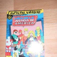 Cómics: LIGA DE LA JUSTICIA DE AMERICA Nº 2 ESPECIAL NAVIDAD - DC - ZINCO. Lote 205396223