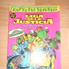 Cómics: LIGA DE LA JUSTICIA Nº 1 ESPECIAL VERANO - DC - ZINCO. Lote 205396543