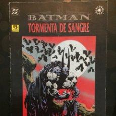 Cómics: BATMAN : TORMENTA DE SANGRE DE DOUG MOENCH DC CÓMICS ( 1996 ).. Lote 205442077