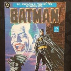 Cómics: BATMAN : FIEL ADAPTACIÓN AL CÓMIC DEL FILM DE WARNER BROS . DC CÓMICS ( 1989 ).. Lote 205525951