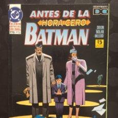 Cómics: BATMAN : ANTES DE LA HORA CERO DE CHUCK DIXON DC CÓMICS ( 1995 ).. Lote 205534983