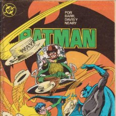 Cómics: CÓMIC ` BATMAN ´ Nº 11 ED. ZINCO 1989. Lote 205556988