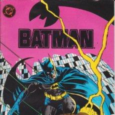 Cómics: CÓMIC ` BATMAN ´ Nº 17 ESPECIAL 50 PÁGINAS ED. ZINCO 1989. Lote 205557326