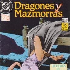 Cómics: CÓMIC ` DRAGONES Y MAZMORRAS ´ Nº 9 ED. ZINCO 1989. Lote 205560936