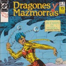 Cómics: CÓMIC ` DRAGONES Y MAZMORRAS ´ Nº 11 ED. ZINCO 1989. Lote 205562028