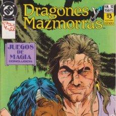 Cómics: CÓMIC ` DRAGONES Y MAZMORRAS ´ Nº 12 ED. ZINCO 1989. Lote 205562338