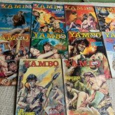 Cómics: YAMBO, LOTE DE 10 EJEMPLARES, RELATOS GRAFICOS PARA ADULTOS -ED. ZINCO. Lote 205564056