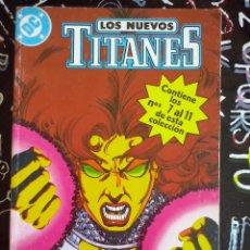 Cómics: ZINCO - NUEVOS TITANES VOL.2 RETAPADO CON LOS NUM. 7 AL 11 . MUY BUEN ESTADO . DIFICIL. Lote 205593047