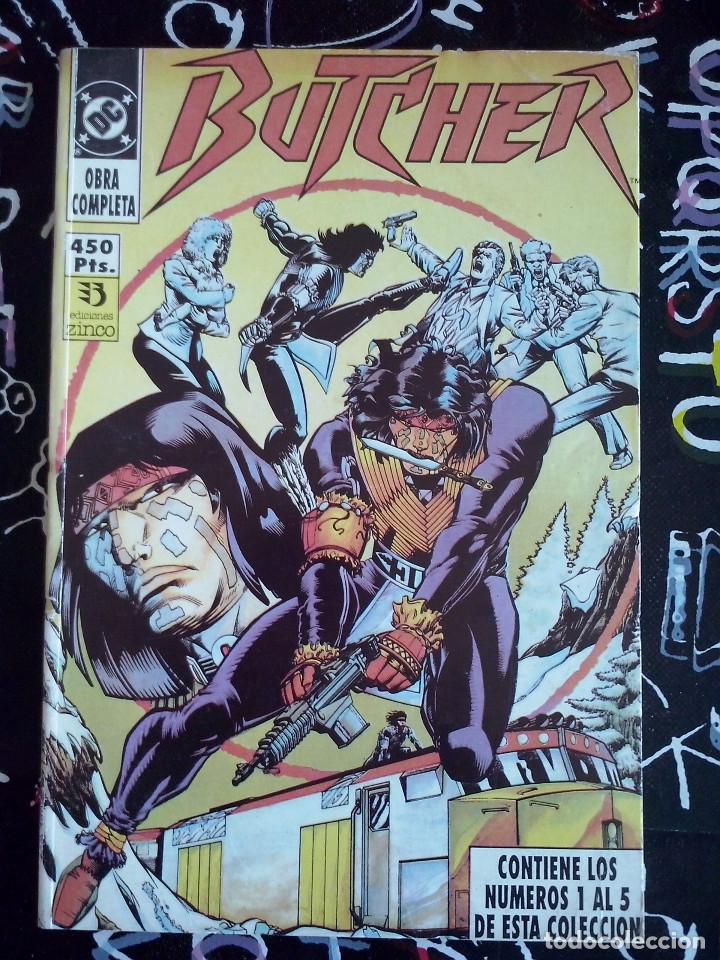 ZINCO - BUTCHER RETAPADO OBRA COMPLETA CON LOS NUM. 1 AL 5. BUEN ESTADO (Tebeos y Comics - Zinco - Otros)