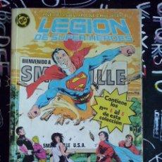 Cómics: ZINCO - LEGION DE SUPER-HEROES RETAPADO CON LOS NUM. 4 AL 8. Lote 205596367