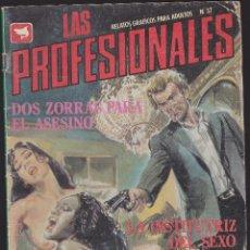 Cómics: LAS PROFESIONALES - Nº 37- RELATOS PARA ADULTOS - COMIC EROTICO - ED ZINCO S.A -. Lote 205596887