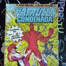 Cómics: ZINCO - LA PATRULLA CONDENADA RETAPADO CON LOS NUM. 9 AL 12.. Lote 205597153