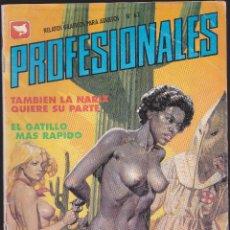 Cómics: LAS PROFESIONALES - Nº 62 - RELATOS PARA ADULTOS - COMIC EROTICO - ED ZINCO S.A -. Lote 205597245