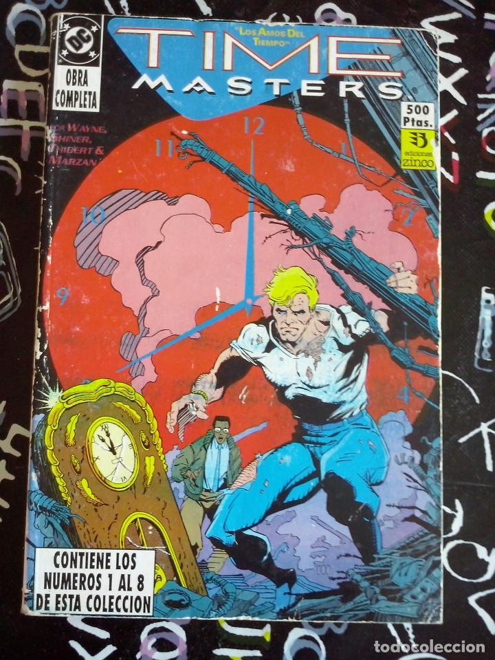 ZINCO - RETAPADO TIME MASTERS OBRA COMPLETA CON LOS NUM. 1 AL 8 . BUEN ESTADO (Tebeos y Comics - Zinco - Otros)