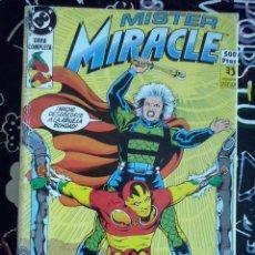 Cómics: ZINCO - MISTER MIRACLE RETAPADO OBRA COMPLETA CON LOS NUM. 1 AL 8 . BUEN ESTADO. Lote 205598286