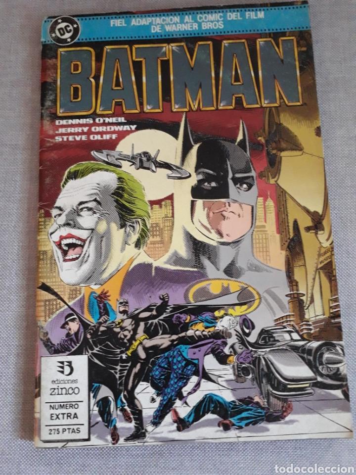 BATMAN. EL COMIC DE LA PELÍCULA . 1989 (Tebeos y Comics - Zinco - Batman)