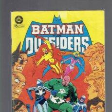 Cómics: N,7,22 Y 23, BATMAN OUTSIDERS EDICIONES ZINCO N,22 Y 23 LA VERDAD SOBRE LOOKER PATE 3 Y 4. Lote 205791420