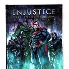 Cómics: INJUSTICE AÑO CUATRO - ECC / DC TAPA DURA. Lote 205866721