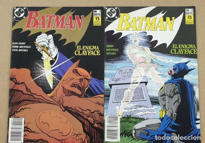 BATMAN EL ENIGMA CLAYFACE COMPLETA 1 2 ZINCO (Tebeos y Comics - Zinco - Batman)