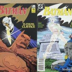 Cómics: BATMAN EL ENIGMA CLAYFACE COMPLETA 1 2 ZINCO. Lote 205872776