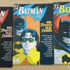 Cómics: BATMAN UNA MUERTE EN LA FAMILIA COMPLETA 1 2 3 ZINCO. Lote 205872787