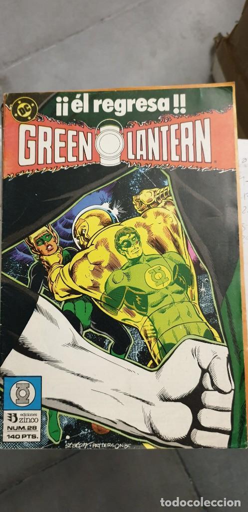 Cómics: Green Lantern volumen 1 casi competa del 1 al 29 menos 3 y 7 Encuadernado Zinco - Foto 6 - 205872876