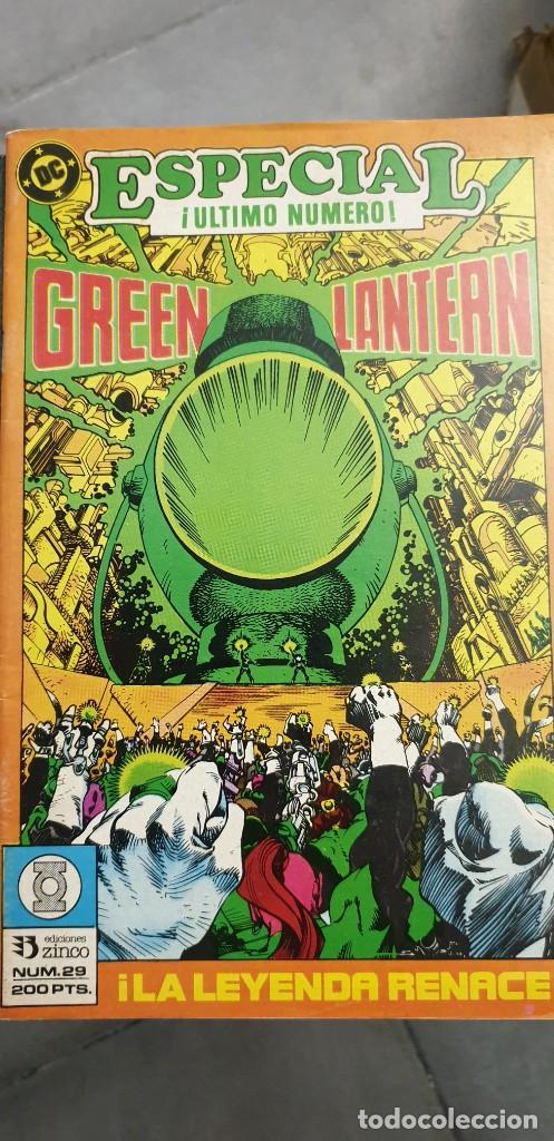 Cómics: Green Lantern volumen 1 casi competa del 1 al 29 menos 3 y 7 Encuadernado Zinco - Foto 7 - 205872876